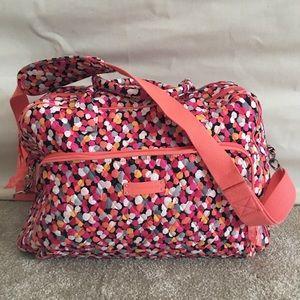 Vera Bradley Weekender Bag in Pixie Blooms